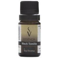 Essencia de Black Vanilla - 10ml - Via Aroma