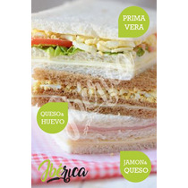 Sandwiches Miga Triples 12x6cm Grandes - Catering - Lunch