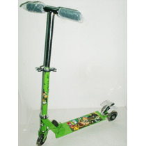 Monopatin Scooter Metal 3 Ruedas Angry Birds Ben 10