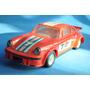 Porsche Rojo Martini Publicidad Plastico Juguete Antiguo