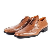 Zapato De Vestir Hombre Cuero Avellana Colección 2016