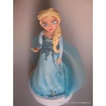 Frozen Adorno Para Torta Porcelana Fría - Narartesana
