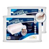 Pack X 2 Almohada Inteligente Con Funda Lavable Cervical