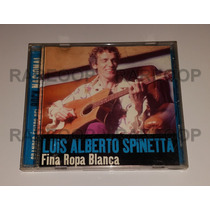 Luis Alberto Spinetta (cd) Fina Ropa Blanca Altaya Exitos
