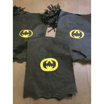 Souvenir Superhéroes Capas Batman Cumpleaños Infantiles