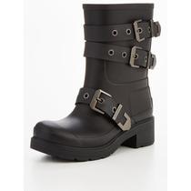 Bota De Lluvia Hunter Original Mercury Ankle Boot Negro