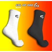 Medias De Algodon Gol De Oro Elite Pack X 3 - Running Futsal