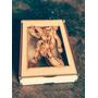 Caja Souvenir Truco Naipes Chin Chon Madera Fibrofacil Mdf