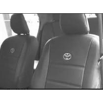 Fundas Cubre Asiento Toyota Hilux/etios/corolla Cuero Ecològ