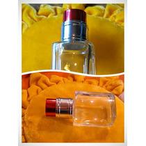 30 Envases, Frasco Vidrio, Tapa Metal, + Perfume, Souvenirs
