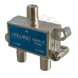 Derivador Splitter De Señal Holland Ghs-2 Coaxil Tv Conector