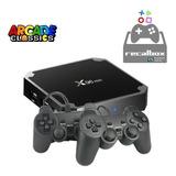 Consola Retro Juegos Tv Box 2 Joystick 9000 Juegos Recalbox