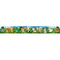 Guardas Autoadhesivas Infantiles Para Pared,animales Bb