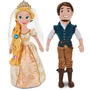 Princesas Disney Store Rapunzel Merida Valiente Peluche 54cm