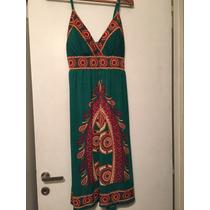 Vestido Mujer Tipo Hindu Talle M Oportunidad