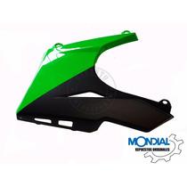 Carcasa Cubre Motor Y Quilla Izq. Verde Ex150 Mondial Orig.