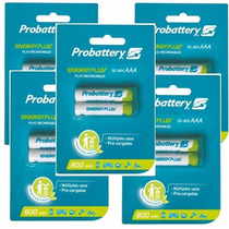 Pack X10 Pilas Probattery 2100 Aa Recrgables Energy Plus