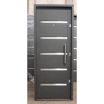 Puerta Inyectada De Seguridad Chapa 18 3 Cerraduras