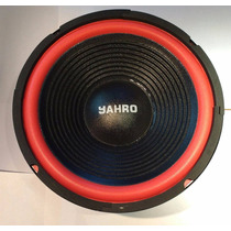 Parlante Woofer Jahro Lepc10 8 Ohms 80 W Rms 200 W Musicales