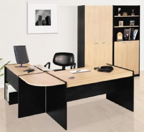 puesto de trabajo platinum escritorio esquinero mesa pc