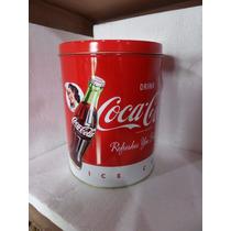 Lata De Coca Cola Nueva 20 Cm De Alto X 16 De Ancho