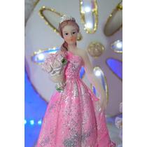 Princesas 15 Años Souvenir Cumpleaños Poliresina X 1
