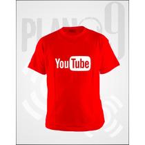 Remeras Estampadas Youtube Con El Nombre De Tu Canal