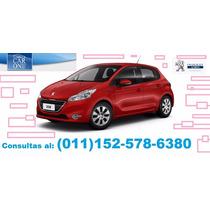$63000 De Adelanto Y Cuotas Sin Interés Peugeot 208 Active