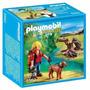 Playmobil 5562 - Explorador Con Perro Y Castores