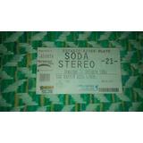 Entrada Último Concierto Soda Stereo 2007