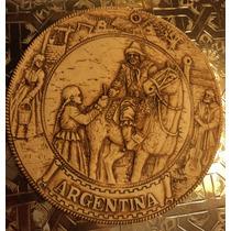 Antigua Placa Original De Arbio Regreso Al Pago Año 1950
