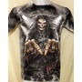 Remera Modelo Hard Rock - Calaveras - Punk - Metal Sublimada