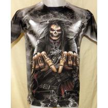 Remera Modelo Hard Rock - Calaveras - Punk - Metal Sublimada