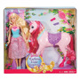 Barbie Princesa Con Caballo Unicornio Mattel Muñeca Barbie