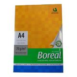 Resmas A4 Boreal 70gr Caja X 10 Uni Papel Obra Blanco Envío