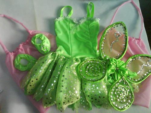 Disfraz Campanita Tinkerbell Completo!! -alas-zapatitos a $ 499 ...