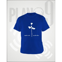 Remeras Estampadas Depeche Mode