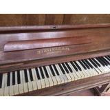 Piano Zeitter & Winkelmann Braunschweig  Usado P/restaura