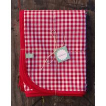 Mantel De Diseño Picnic Rojo 1,5m X 2,5m