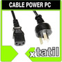 Cable Power Pc Cable Energia Para Fuente Xtatil Belgrano