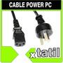 Cable Power Pc Cable Energia Para Fuente Xtatil Belgrano