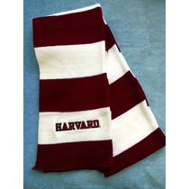 Universidad Harvard. Original. U. S. A. Bufanda.