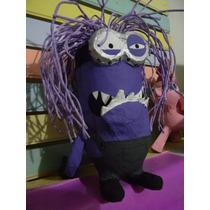 Piñata De Minion Violeta-morado