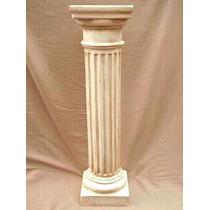 Columna De Yeso 1 Metro Base 20x20cm Doricas