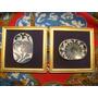 Porcelana China Antigua Dos Cuadritos Con Fragmentos Sello