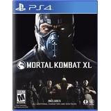 Mortal Kombat Xl Juego Físico Ps4 Original Nuevo Sellado