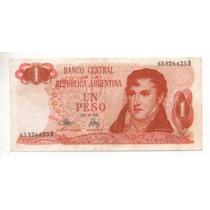 1 Peso Ley 18188 Año 1973 Bottero 2313 Cd 4200