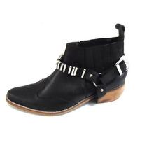Botinetas/ Botas Texana Numeros 41 42 43 44 Zinderella Shoes