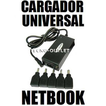 Cargador Pared Universal Netbook Asus Eee Acer One Msi Wind