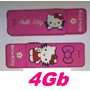 Pendrive Usb Hello Kitty Kity Original Rosa Pink Fuxia 4gb